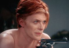movie celebrities david bowie sexual frustration the man who fell to earth GIF