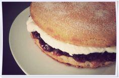 Victoria Sponge Cake (by Rachel Allen).