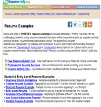 elow are links to 109 FREE resume examples & resume templates. Writing resumes can be challenging, however using resume examples that were written by professionals as a guide can help achieve the best resume format and resume layout. The below free resume    Read more: http://www.resume-help.org/free_resume_examples.htm#ixzz28USHzbzO