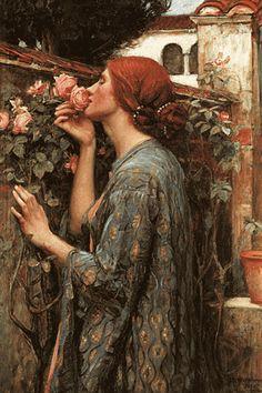 Soul of the Rose by John Waterhouse
