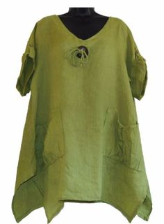Naveed Mode Damen Tunika Shirt Top Bluse Stretch Lagenlook 42 44 46 48 50 52