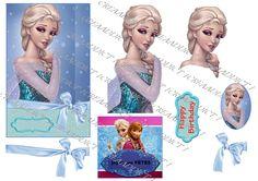 Copie de frozen Decoupage Printables, 3d Sheets, Arts And Crafts, Paper Crafts, 3d Pictures, 3d Cards, Princess Zelda, Disney Princess, Princesas Disney