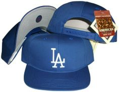 Los Angeles Dodgers Blue Snapback Adjustable Plastic Snap Back Hat / Cap by MLB. $15.49. One Size Fits All. Embroidered team graphics. Make a fashion statement while wearing this retro snapback cap.