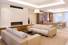Interior, Living Room And Dining Room Design For Modern Apartment Design Ideas…