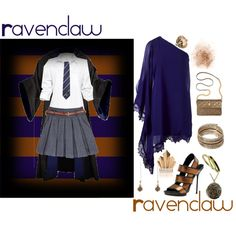 Ravenclaw, created by infracti-angelus on Polyvore