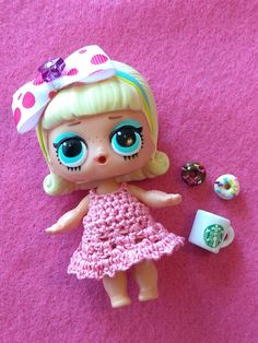 4pc LOL Surprise Dolls Sleeping B.B Baby Accessory Set Outfit Toys