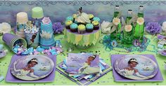 Princess and the Frog Party Supplies idea