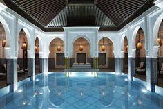 La Mamounia - Marrakech, Morocco. The 10 most amazing indoor pools