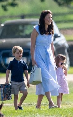 Latest news and updates for Kate Middleton, the Duchess of Cambridge. Find videos, interviews and photos of Catherine Middleton. English Royal Family, British Royal Families, Kate Middleton Prince William, Prince William And Kate, Look Star, Polo Match, Prince George Alexander Louis, Kate Middleton Style, Zara Dresses