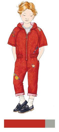 PeclersParis twists the kids wardrobe with its « Street Preppy » - exclusive story- SS17 Kids trendbook - Trends (#576478)