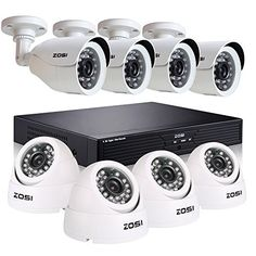 Special Offers - ZOSI 8CH CCTV System Kit 960H Recording Home Security DVR 800TVL Day&Night Color CMOS Cameras Long Night Vision 4PCS Bullet 4PCS Dome Surveillance Smart Security Kit NO HDD - In stock & Free Shipping. You can save more money! Check It (June 16 2016 at 12:59PM) >> http://smokealarmusa.net/zosi-8ch-cctv-system-kit-960h-recording-home-security-dvr-800tvl-daynight-color-cmos-cameras-long-night-vision-4pcs-bullet-4pcs-dome-surveillance-smart-security-kit-no-hdd-2/
