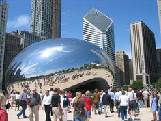 I LOVE Chicago... so may cool things to see and do, and so much architecture and interactive art and green spaces