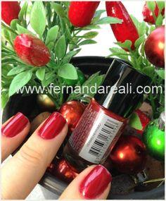 Esmalte Vermelho - @Fernanda Reali  #nails #nailpolish #esmaltes #beauty