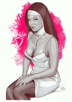 oboyTabú by Didier Vázquez, via Behance Ink Illustrations, Illustration Art, Street Art, Tabu, Behance, Sketch Painting, Up Girl, Our Lady, Erotic Art
