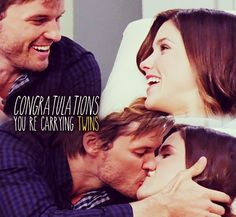 I was so happy for them ;) / Brulian / Pregnant / Favorite Couple / Brooke Davis & Julian Baker / Love / Twins