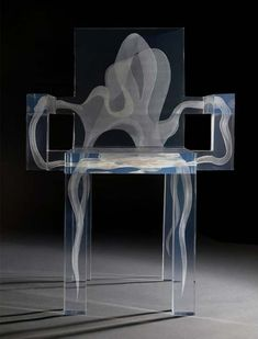Seductive design Ghost Chair,Design by Ralph Nauta and Lonneke Gordijn for DRIFT, (love these chairs) Acrylic Furniture, Funky Furniture, Design Furniture, Unique Furniture, Chair Design, Furniture Ideas, Casa Pop, Design Innovation, Muebles Art Deco