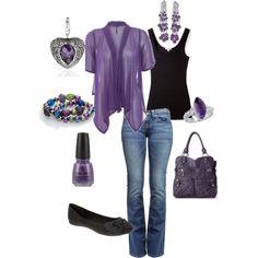 I <3 purple.