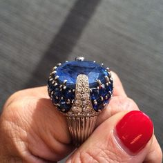 Rosamaria G Frangini | High Deep Blue Jewellery |