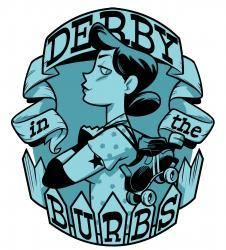 Gotta love good derby logos - Derby in the Burbs: 2010 Eastern Regional Playoffs