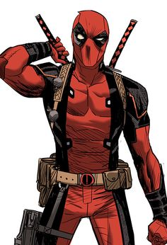 Deadpool cowboy on Behance