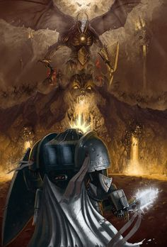 """""""The Emperor Protects!"""", Grey Knight stands against Khrone"""