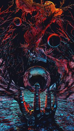 Arte Obscura, Occult Art, Gothic Anime, Horror Art, Monster, Animes Wallpapers, Aesthetic Art, Dark Art, New Art