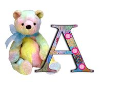 alphabet, teddy alphabet, a-z, patchwork letters, free alphabet Cute Alphabet, Alphabet And Numbers, Alphabet Letters, Create Words, In Loving Memory, Smurfs, Card Making, Creatures, Teddy Bear