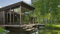 EHA Family Trust Residence by Ward + Blake Architects, Jackson, WY