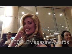 People Magazine Awards 2014 GIF Photos: Karlie Kloss, Josh Gad, Amber Rose : People.com