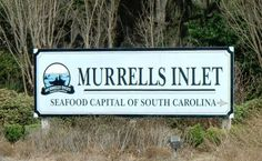 Ate at a restaurant in Murrell's Inlet, S.C.