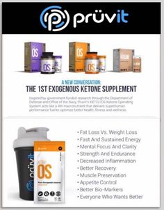 "KETO//OS is a ""First of its Kind"" product. Prüvit's proprietary formula has been researched, tested, and doctor approved. It is the first natural consumer product on the market to provide elevated blood ketone levels to the body."