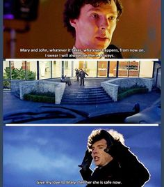 Sherlock may have finally crossed the line into psychopath but don't you dare tell me that he doesn't care.