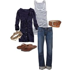 A fashion look from September 2012 featuring American Eagle Outfitters cardigans, American Eagle Outfitters tops and AG Adriano Goldschmied jeans. Browse and s…