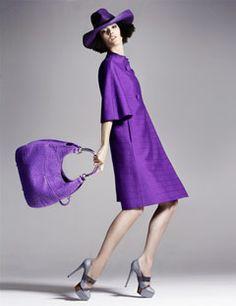Plum The Depths:John Galliano for Dior