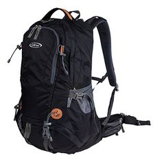 G4Free 50L Outdoor Backpack Camping Climbing Hiking Backpack for Backpacker with Rain CoverBlack * Check out this great product. (Note:Amazon affiliate link)
