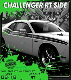 DODGE VINYL LETTERING CHARGER RT DART WINDOW STICKER RAM 1500 2500 GRAPHICS