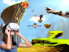 Beat the summer blues by making a visit to Chennai's hippest entertainment center - VR World. #Play engaging #VR #games starting @ Rs 150/-