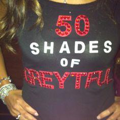 Fifty shades of grey- i need this shirt  !