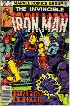 Iron Man 129 December 1979 Issue  Marvel Comics  by ViewObscura