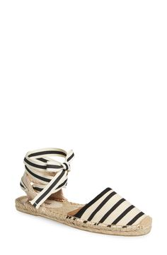 Soludos Lace-Up Espadrille Sandal (Women) available at #Nordstrom