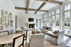 Tanglewood - transitional - Family Room - Houston - Parker House Inc.