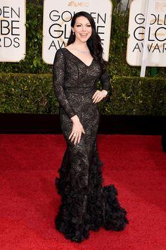 Pin for Later: Seht alle Stars auf dem roten Teppich bei den Golden Globes! Laura Prepon