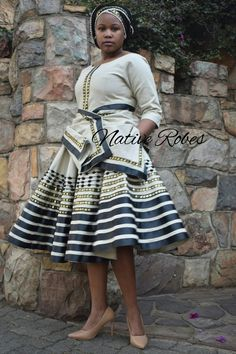 African Print Skirt, African Print Dresses, African Print Fashion, African Prints, Latest African Fashion Dresses, African Dresses For Women, African Women, South African Traditional Dresses, Traditional Outfits