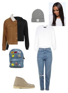 """Untitled #126"" by yasminabuwi on Polyvore featuring Clarks Originals, Topshop, Opening Ceremony and Calvin Klein Collection"