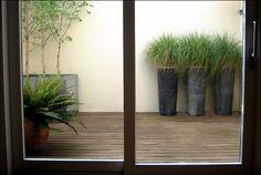 enclosed back patio