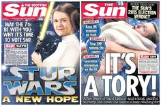 The Sun Newspaper Lambasted For Hypocrisy After Backing Rival Parties Across Different Editions. http://m.huffpost.com/uk/entry/7176306