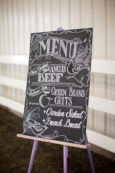 #chalkboard #menus