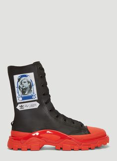 low priced 9fb27 9e76b Adidas By Raf Simons Detroit Boot Sneakers
