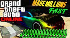 "GTA 5 Online - Best Way To ""Make Money"" Fast & Easy In GTA Online! (GTA ..."