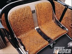 Really nice bomber bench seat